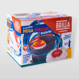 Secchio Mega Strizzo Rotante con pedale