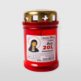 Lumino 20L S.Rita Parapioggia Rosso