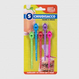 Laccetti Chiudisacco - 5 pz