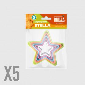 Coppapasta Stella - 5 pz