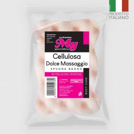 Spugna bagno Cellulosa Dolce Massaggio