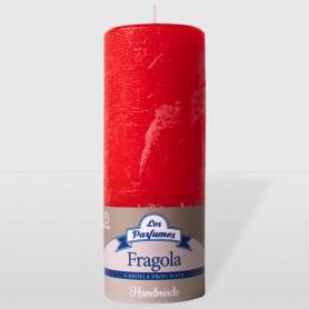 Candela Handmade - Fragola - altezza 15 cm