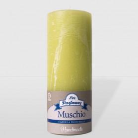 Candela Handmade - Muschio - altezza 15 cm