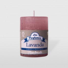 Moccoletto Handmade - Lavanda - altezza 6 cm