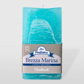 Moccolo quadrato Handmade - Brezza Marina - altezza 10 cm