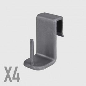 Supporti in polipropilene per serramenti - 4 pz