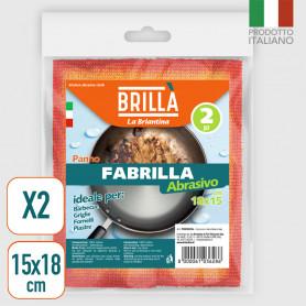 Panni Abrasivi Fabrilla - 2 pz