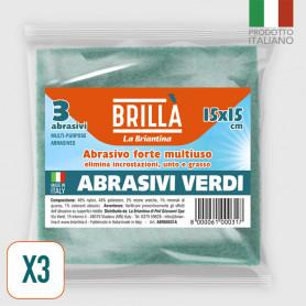 Abrasivi Verdi - 3 pz