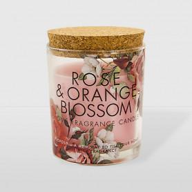 Candela Profumiera - Rosa & Fiore di Arancio