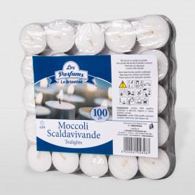 Moccoli Scaldavivande in confezione termoretraibile - 100 pz